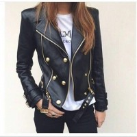 Jacket Leather Rokita