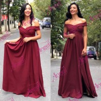 Dress Cramel Burgundy