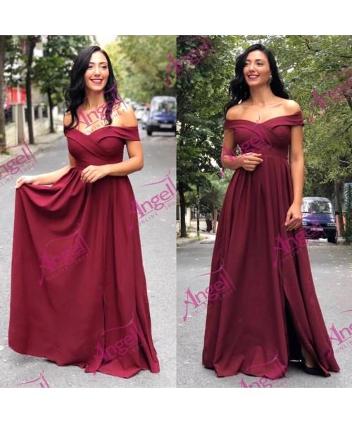 Dress Cramel Burgundy