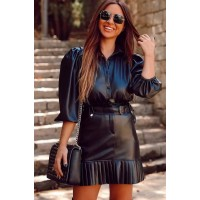 Leather Shirt Poli