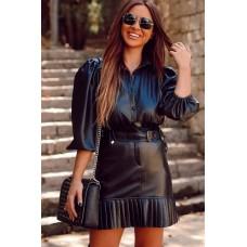 Leather Shirt Poli