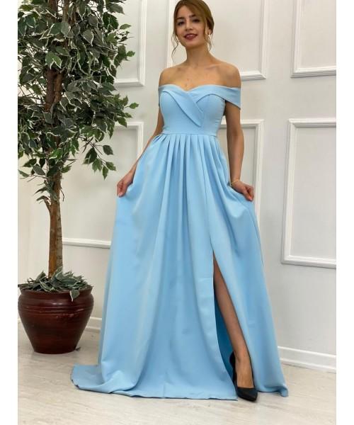 Dress Cramel Blue